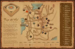 Viaje Del Sol Map