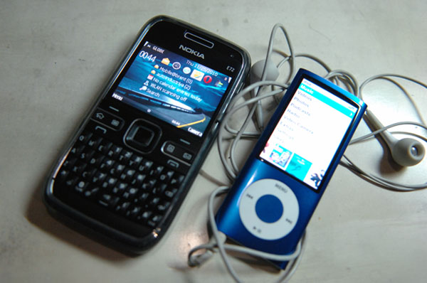 New phone and iPod