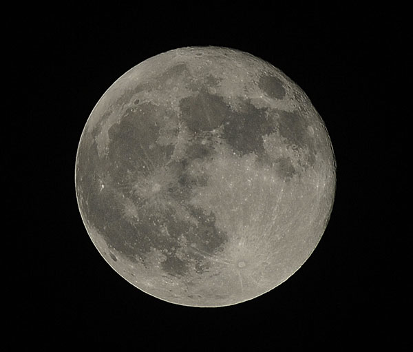 Supermoon 2012 by Brent Co