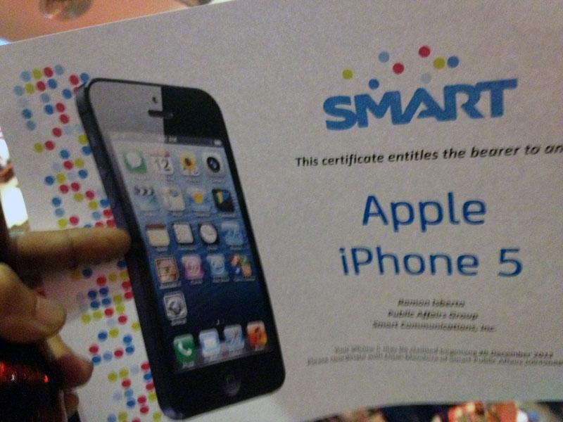 iPhone5 Certificate