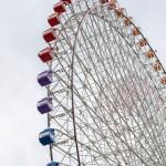 Tempozan Ferris Wheel up close